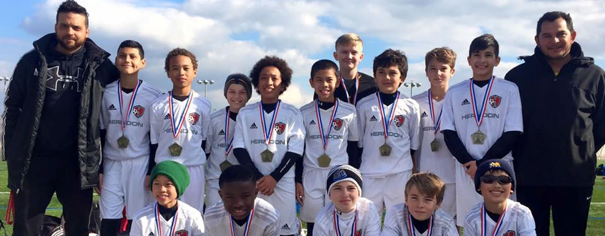 ArzaniSoccer Team beats DC United Academy